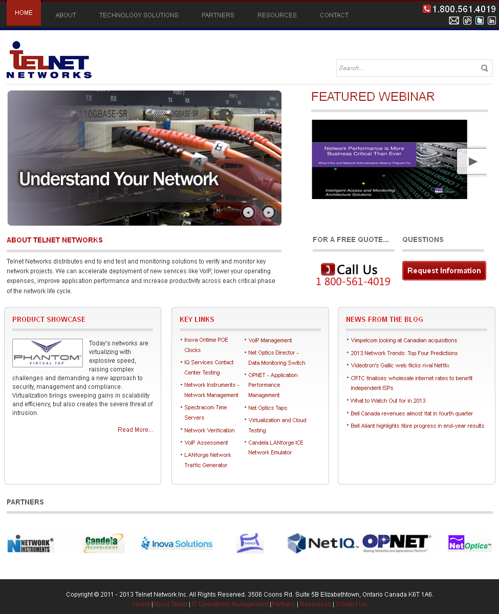 Development of Joomla Based Network Monitoring Solutions -TELNET NETWORKS