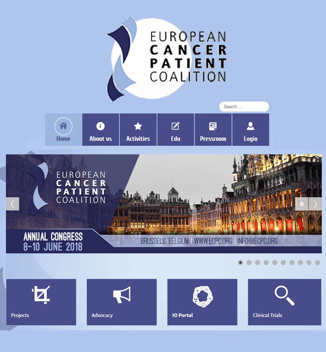 Joomla Website Development/Maintenance for Medical Industry, Belgium - ECPC