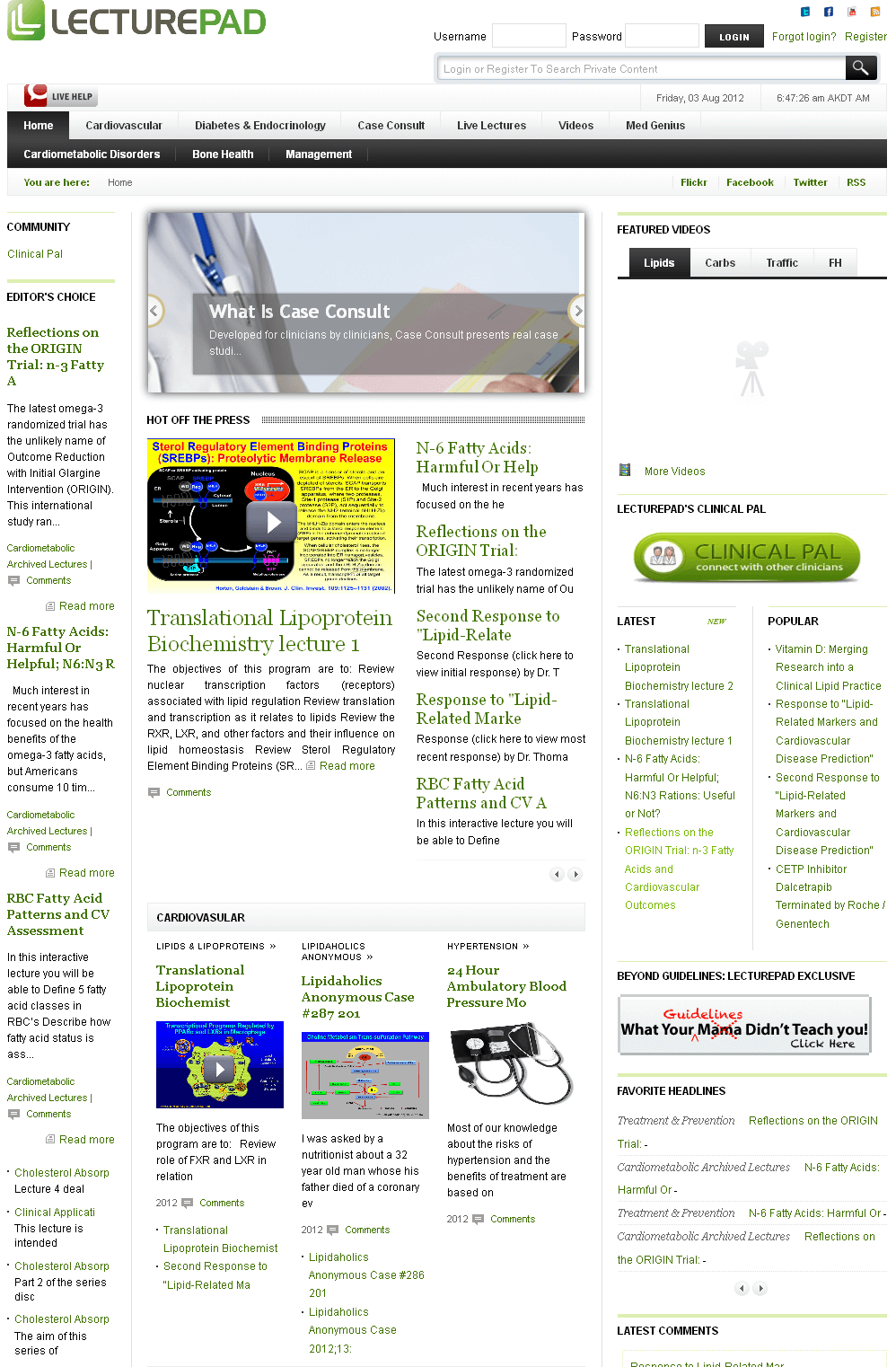 Development of Joomla Based Site for Clinicians