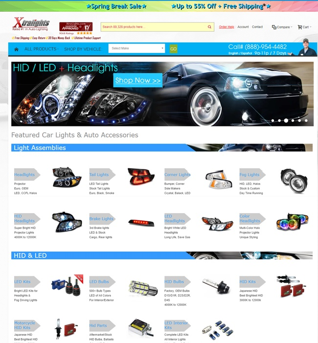 Enhancement of Magento Shopping Website for Automobiles Industry
