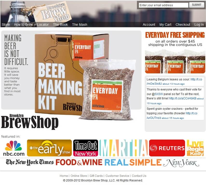 Development of A Magento Based Online Store For Selling Beer Making Kit