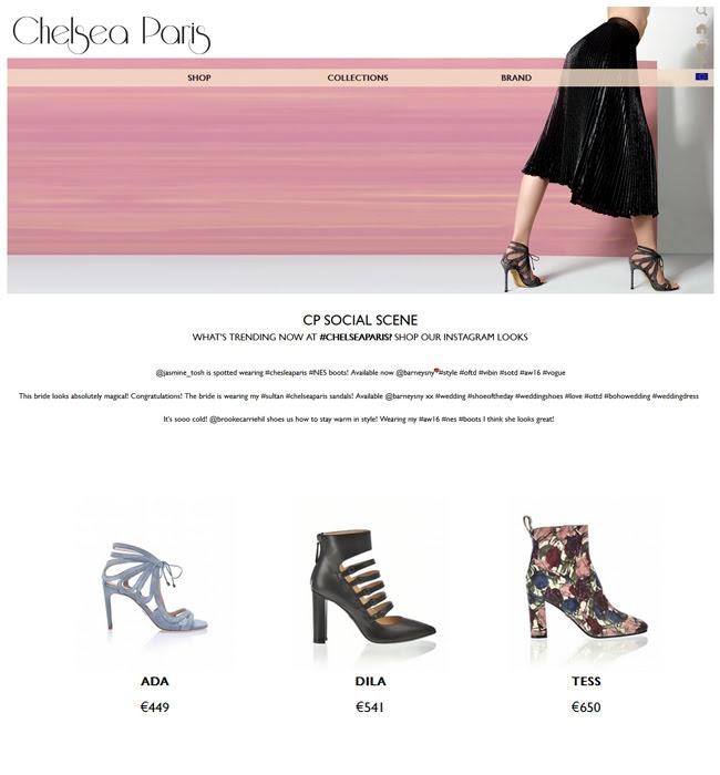 Enhancement of Magento Based eCommerce Website - Chelsea Paris