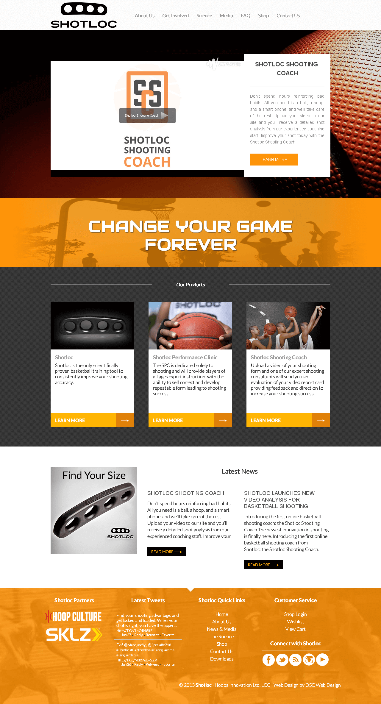 Modifications to a Magento Based Website for Basketball Training Products