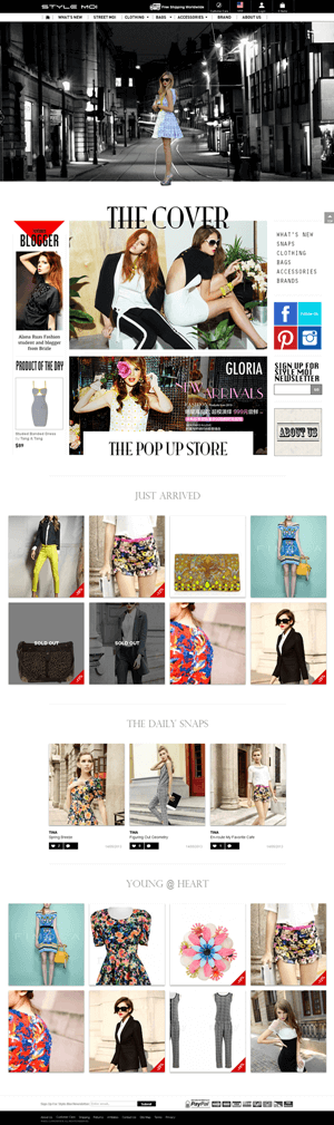 Magento Website for Retail 'Style Moi' – Online Fashion Outlet