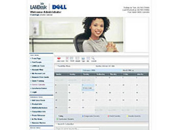 CMS Website for Consumer 'landeskdell' Using Mambo