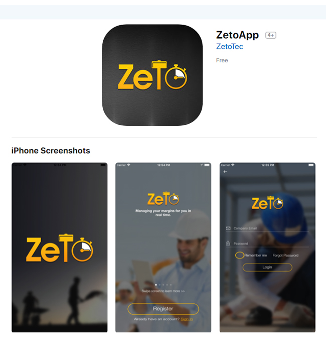 Native Android & iPhone App Development for Finance Industry, Canada – Zeto