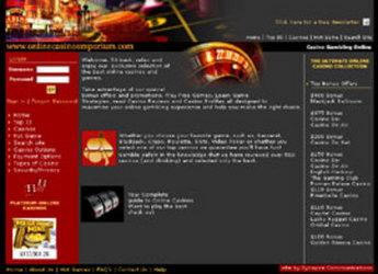 PHP Website for Entertainment 'OnlineCasinoEmporium' – Casino Online