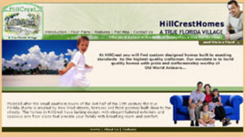 PHP Website for Real Estate 'HillCrestHomes' – Houses for Sell Business