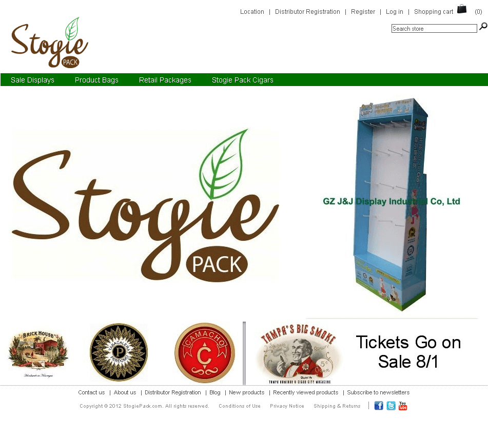 Development of An eCommerce Site for Selling Cigars