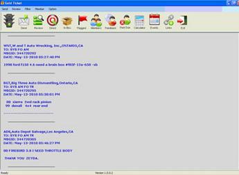PHP Based Desktop Messaging Application - Gold Ticket