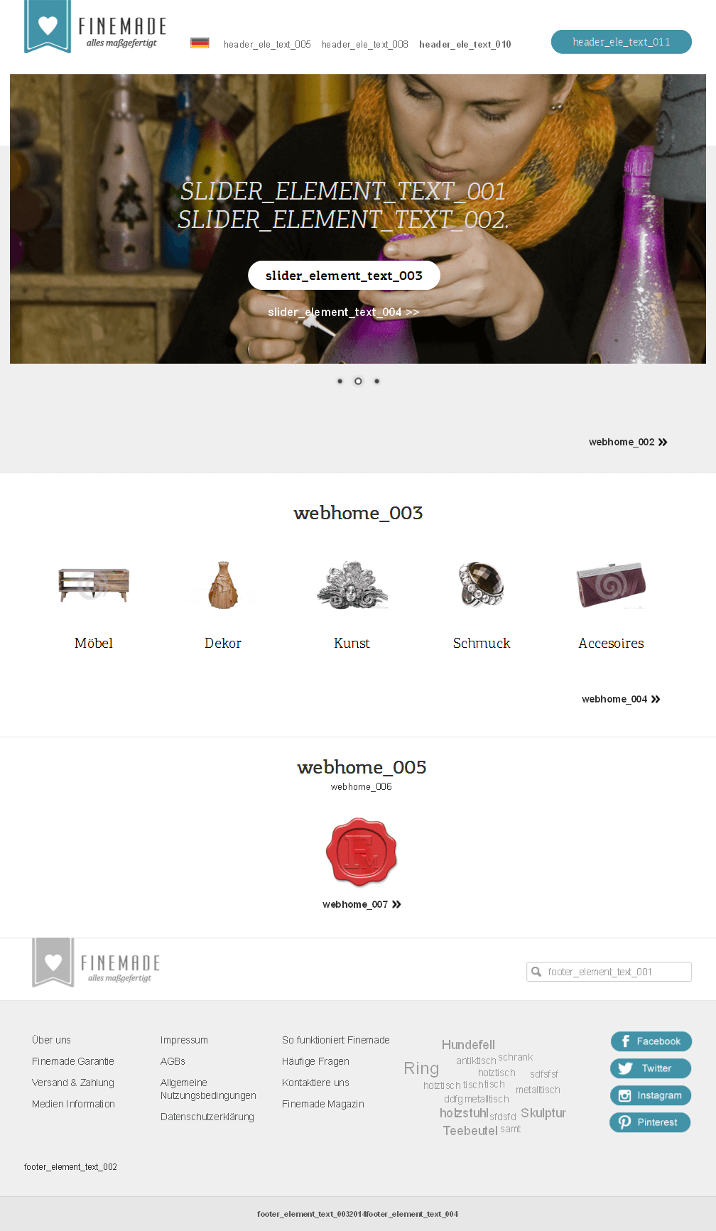 Development of a Common eCommerce Marketplace for Buyers & Sellers