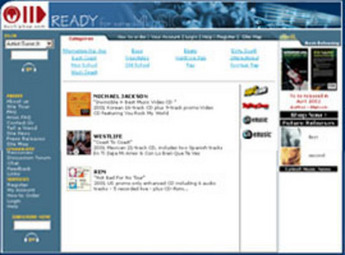 Website for Retail 'Buyhiphop' Using PHP - MP3 eCommerce Portal