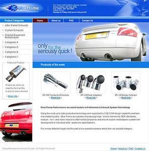 PHP and MySQL Based Website for Automotive Performance Accessories