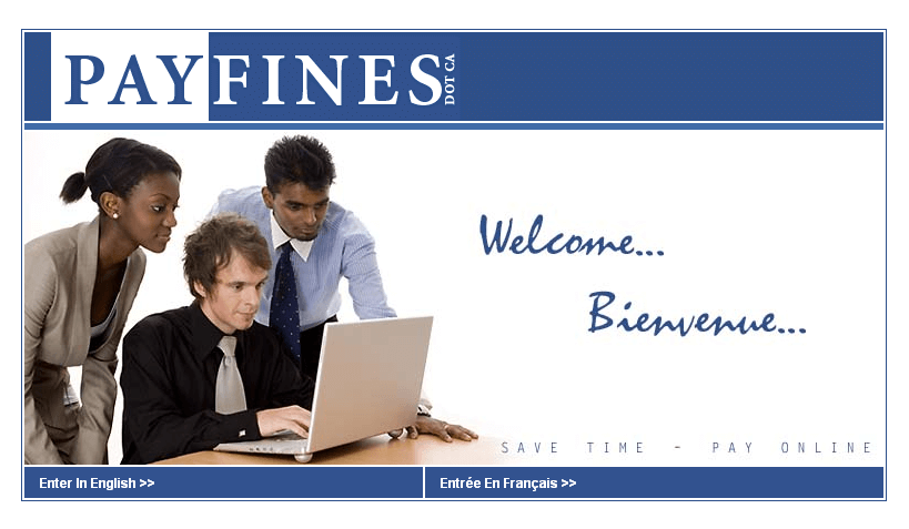 Website for Banking 'Payfines' Using PHP – Pay Traffic Fines Online