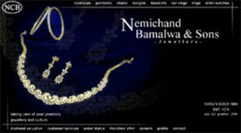 Website for Consumer 'Bamalwa' Using PHP - Sell Jewelry Online
