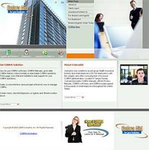 Website for 'COBRA' Using PHP – Health Insurance Brokers/Agents