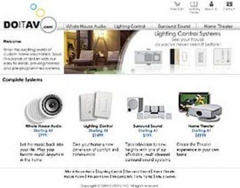 Website for Consumer 'Doitav' Using PHP – Online Electronics Store