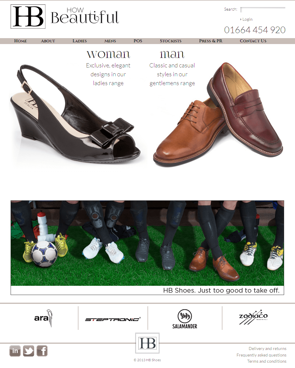 Howbeautiful - A Magento Based Store For Footwear Products
