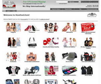 Website for Consumer 'howcool' Using PHP – Online Fashion Store