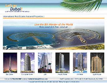 Website for Real Estate 'letsgodubai' Using PHP – Properties Listing