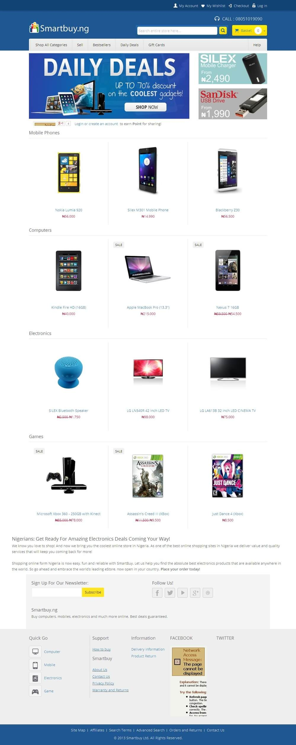 A PHP Based Marketplace for Electronic Products