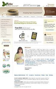 PHP Based Website Redesigning for Selling Herbal Coffee - Soycoffee