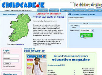 PHP Website for Education 'Childcare' – Online Directory
