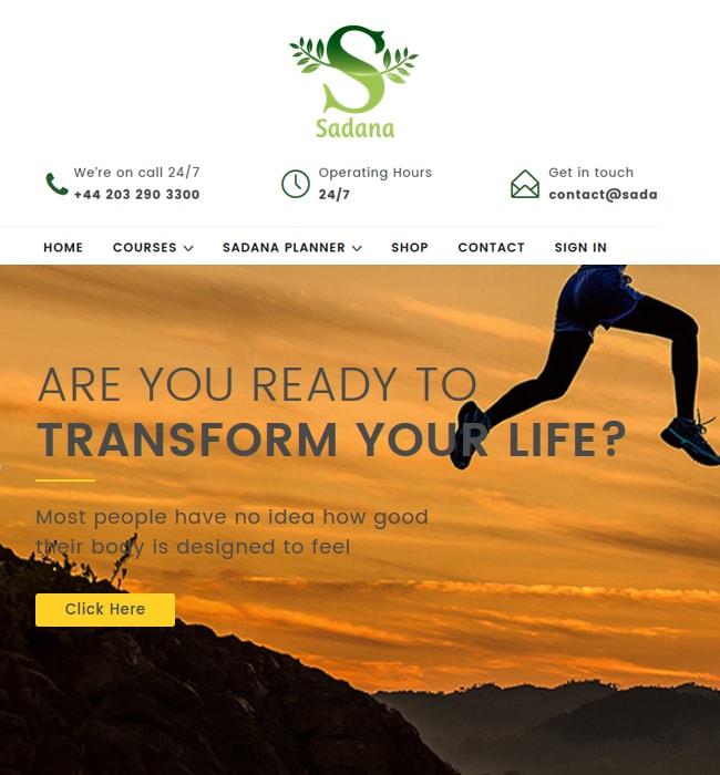 WordPress Website Enhancement for eLearning Industry in UK - Sadana