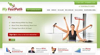 PHP Website for Subscription Billing Platform 'MyFastPath'