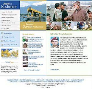 PHP Based Website Development - Armyinkashmir