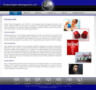 PHP Website for Global Rights Management, LLC 'GRML'