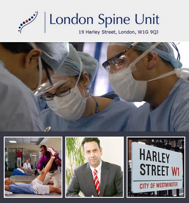 Website Design & Development for London Spine Unit - for Pharmacy Industry
