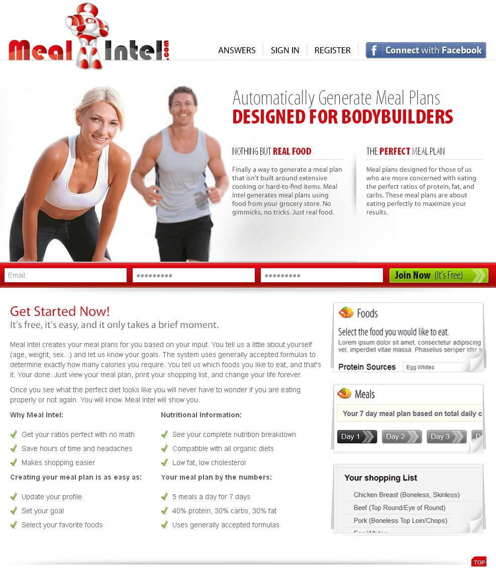 Redesigning A Zend Framework Based Website - Mealintel