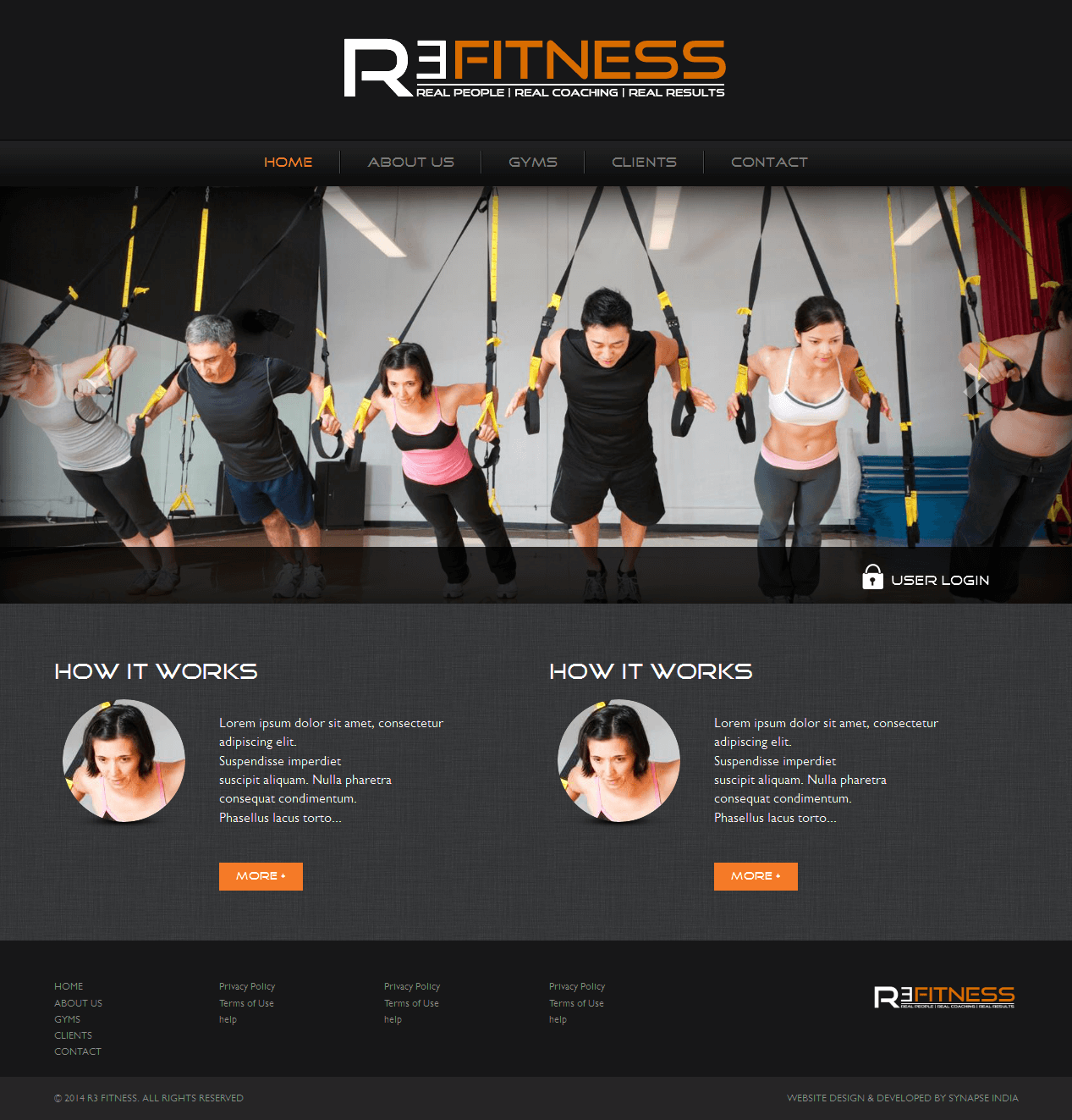 Design and Development of a PHP Powered Website for Fitness Industry