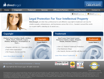 Website on Copyright and Trademark