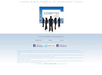 PHP Website for 'Cosmo Crew' – Job Portal