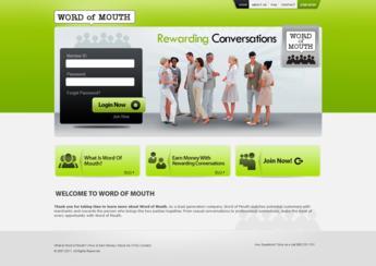Multi Level Marketing Lead Generation Website
