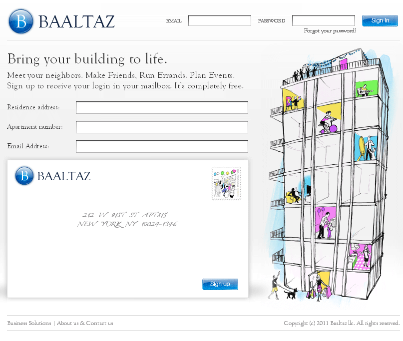 Enhancement of PHP Based Social Networking Website - BAALTAZ