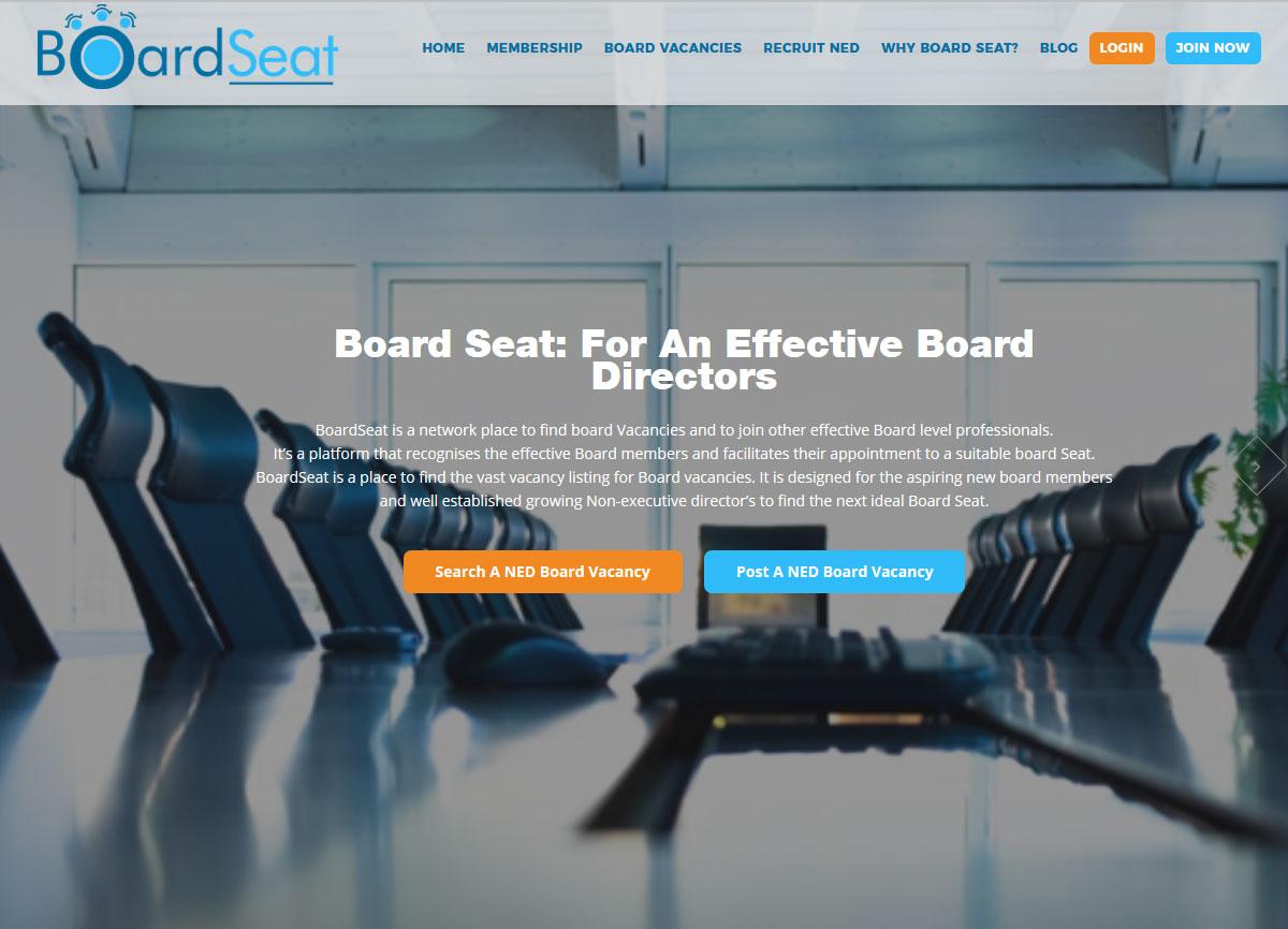 Development of WordPress Based Web Application - BoardSeat