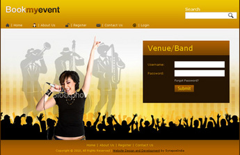 PHP Website for 'BookMyEvent' – Online/Offline Ticketing & Promotions