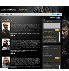 Development Commercial Fan  Website