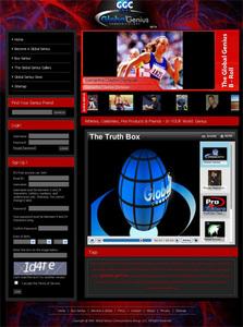 PHP Website for Media 'Global Genius' – Online News Platform