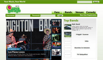 PHP Website for 'Guava Garage' – Online Community for Music Lovers