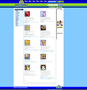Website for Free Games Online 'Online Game Kids' Using PHP