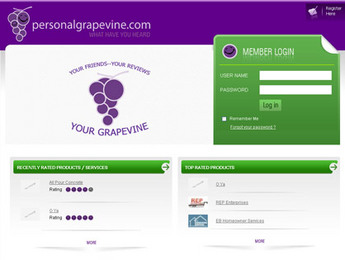 Website for Media 'Personal Grapevine' Using PHP – Social Networking