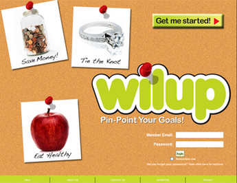 PHP Website for Media 'Wilup' – Online Shop for Bulletin Boards