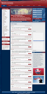 Website for 'Voters Congress' Using PHP - Information About Vote