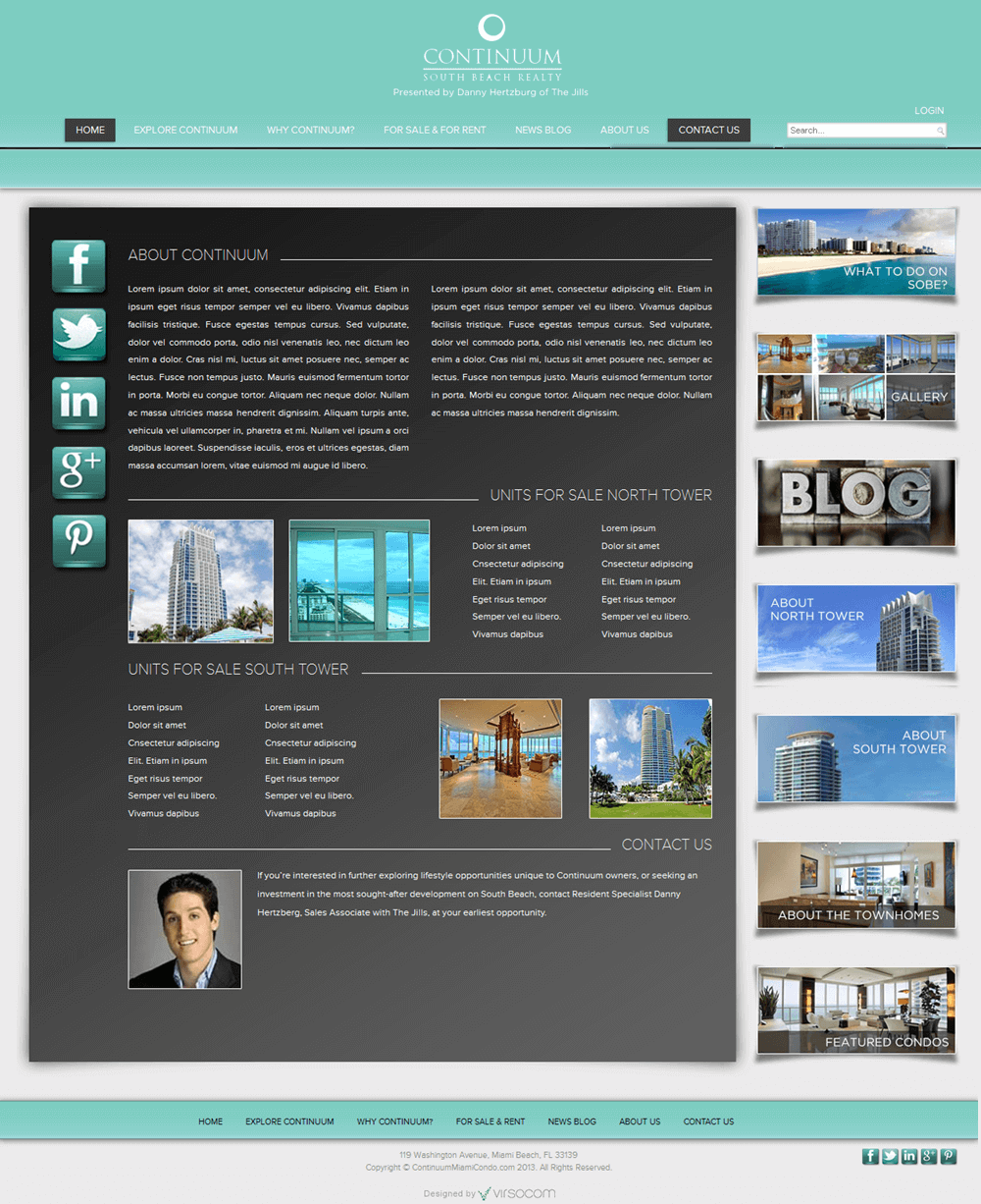 Website for Real Estate 'CSBR' Using PHP - Property for Sell & Rent