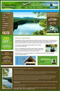 Real Estate Website in PHP for 'Diamondhead Arkansas' - Buying & Selling