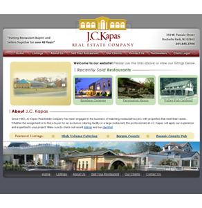 Real Estate Website in PHP for 'J.C.Kapas' - Restaurant Buying & Selling